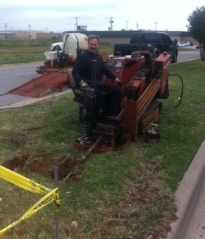 Precision Directional Boring done in Oklahoma City.