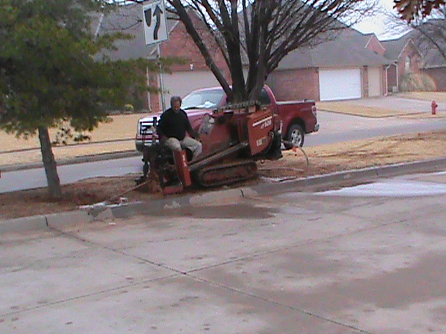 Directional Drilling under a road in Norman Oklahoma